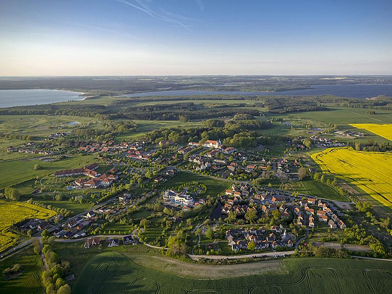 Luftbild von Göhren-Lebbin
