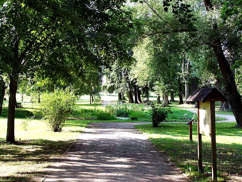 Landschaftspark am Café Storchennest